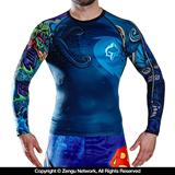 Ground Game Irezumi Rashguard